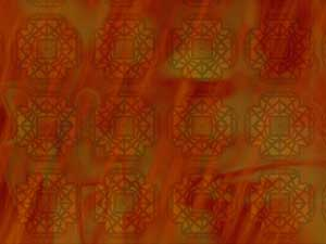 Fire Patterns PowerPoint Templates