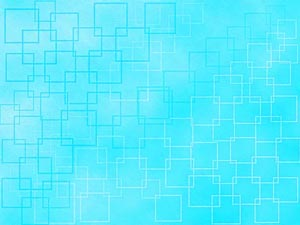 Turquoise Geometry PowerPoint Templates