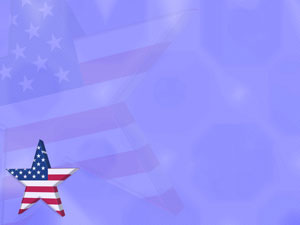 Americana Star PowerPoint Templates