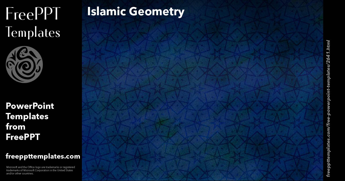 islamic geometry powerpoint templates