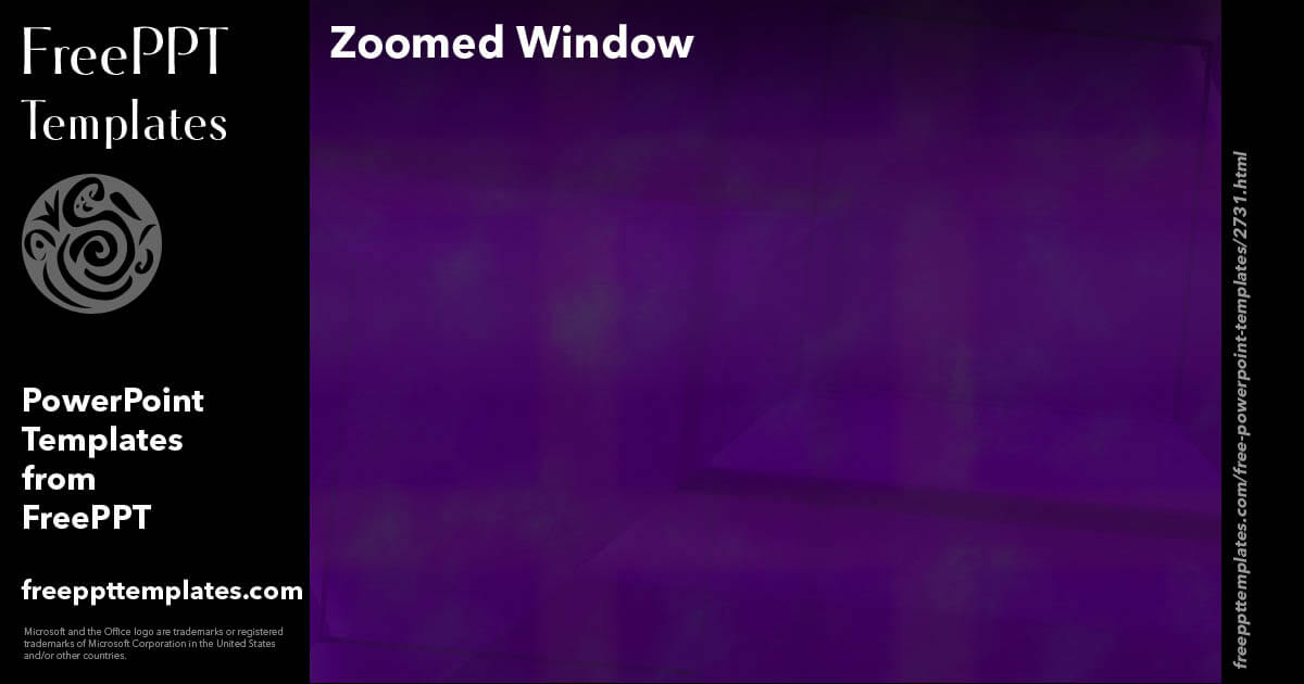 Zoomed window powerpoint templates toneelgroepblik Images