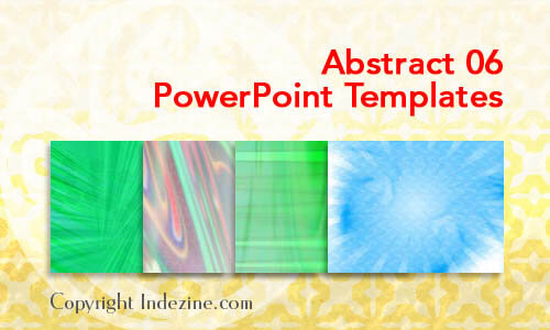 Abstract 06 PowerPoint Templates