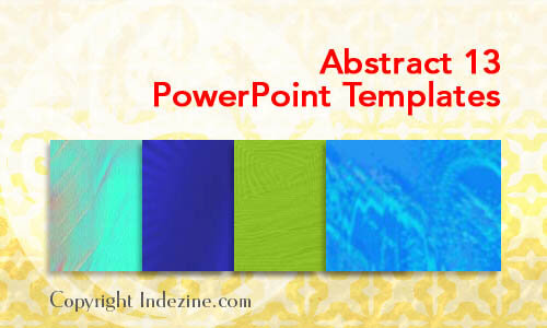 Abstract 13 PowerPoint Templates