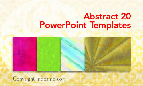 Abstract 20 PowerPoint Templates