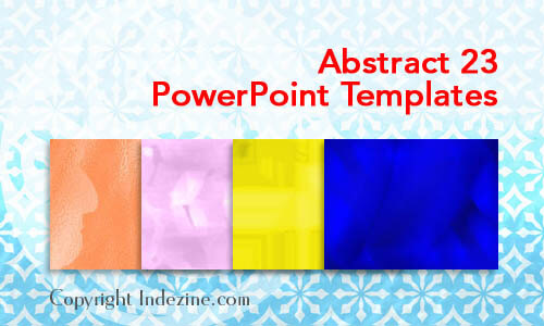 Abstract 23 PowerPoint Templates