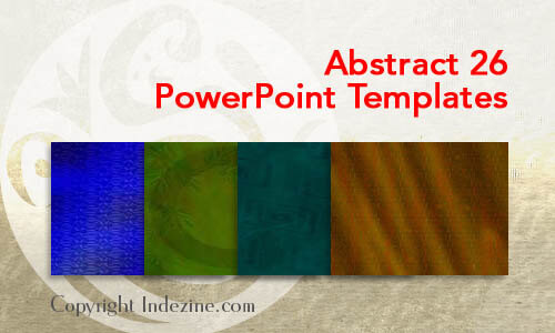 Abstract 26 PowerPoint Templates