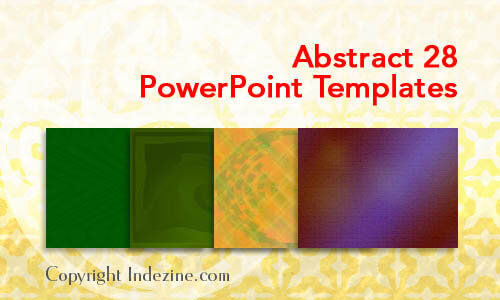 Abstract 28 PowerPoint Templates