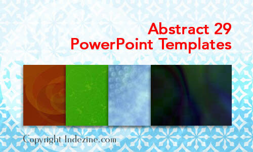Abstract 29 PowerPoint Templates