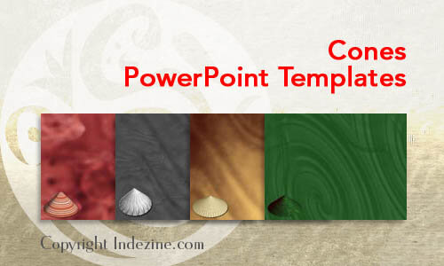 Cones PowerPoint Templates