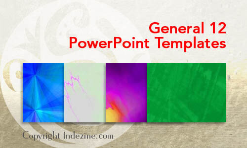 General 12 PowerPoint Templates