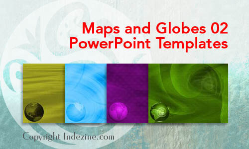 Maps and Globes 02 PowerPoint Templates