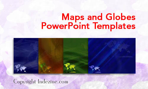 Maps and Globes PowerPoint Templates