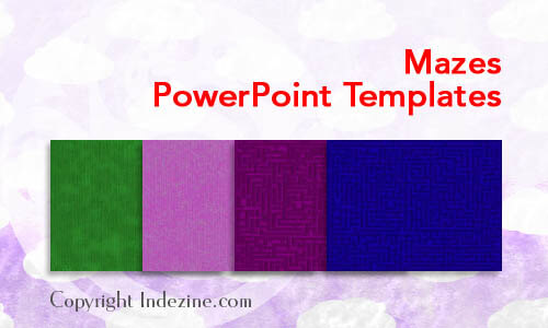 Mazes PowerPoint Templates