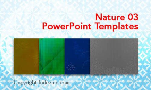 Nature 03 PowerPoint Templates