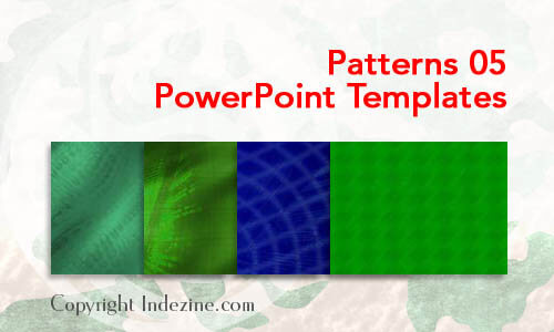 Patterns 05 PowerPoint Templates