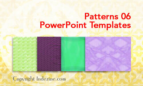Patterns 06 PowerPoint Templates