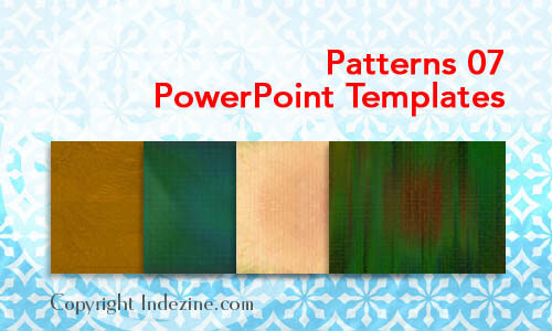 Patterns 07 PowerPoint Templates