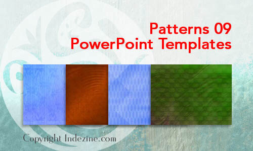 Patterns 09 PowerPoint Templates