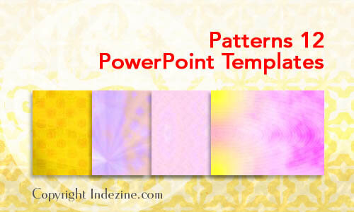 Patterns 12 PowerPoint Templates