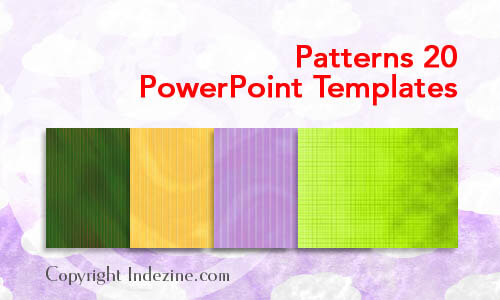 Patterns 20 PowerPoint Templates
