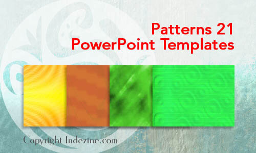 Patterns 21 PowerPoint Templates