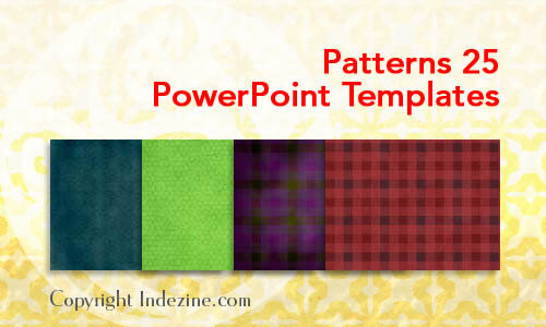 Patterns 25 PowerPoint Templates