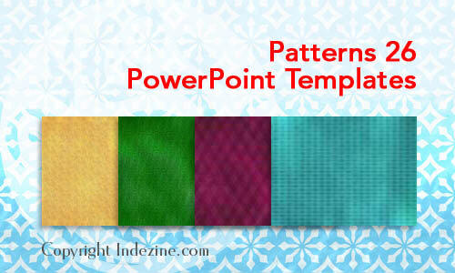 Patterns 26 PowerPoint Templates