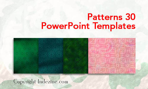 Patterns 30 PowerPoint Templates