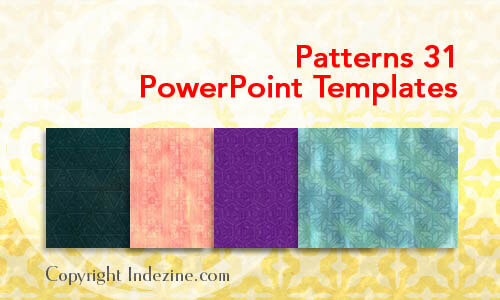Patterns 31 PowerPoint Templates