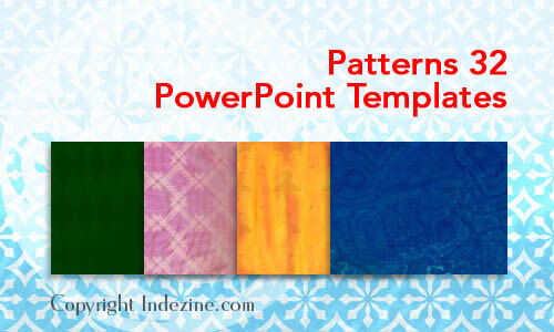 Patterns 32 PowerPoint Templates