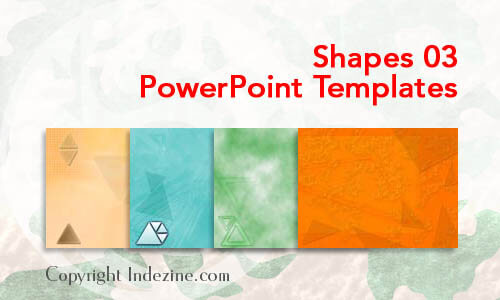 Shapes 03 PowerPoint Templates