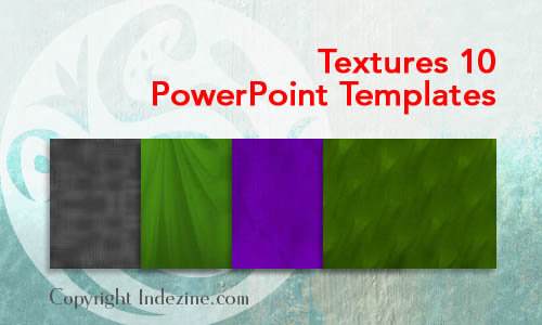 Textures 10 PowerPoint Templates