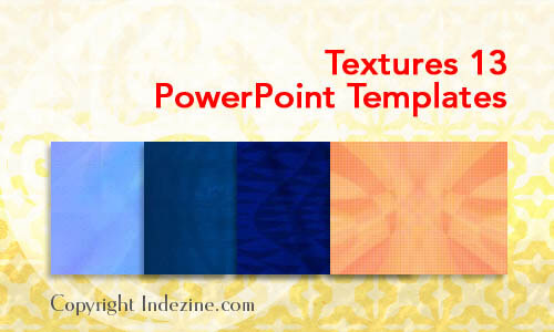 Textures 13 PowerPoint Templates