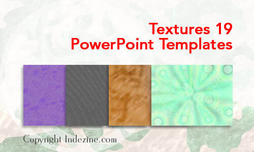 Textures 19 PowerPoint Templates