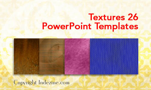 Textures 26 PowerPoint Templates