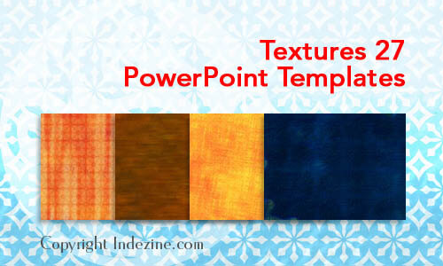 Textures 27 PowerPoint Templates