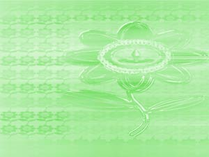 Green Lotus PowerPoint Templates